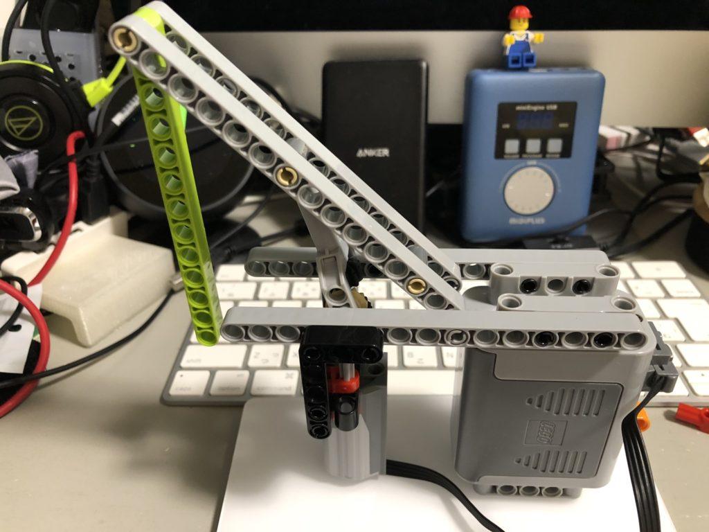 モーターを組み込んだリニアアクチュエータ(小)